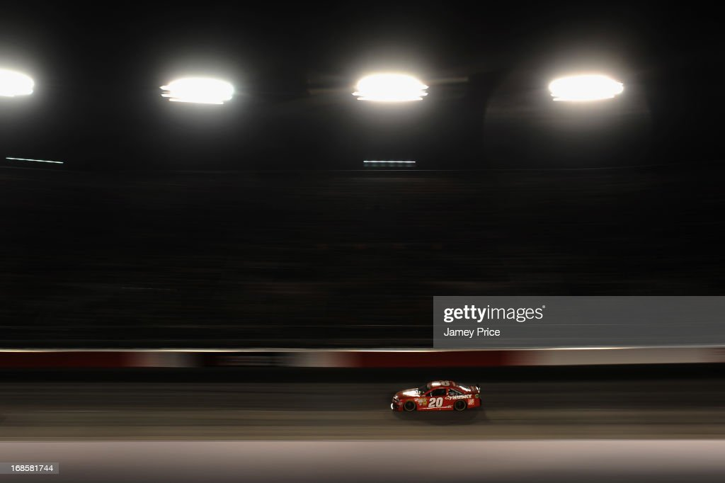 Matt Kenseth, driver of the #20 The Home Depot / Husky Toyota, races during the NASCAR Sprint Cup Series Bojangles' Southern 500 at Darlington Raceway on May 11, 2013 in Darlington, South Carolina.