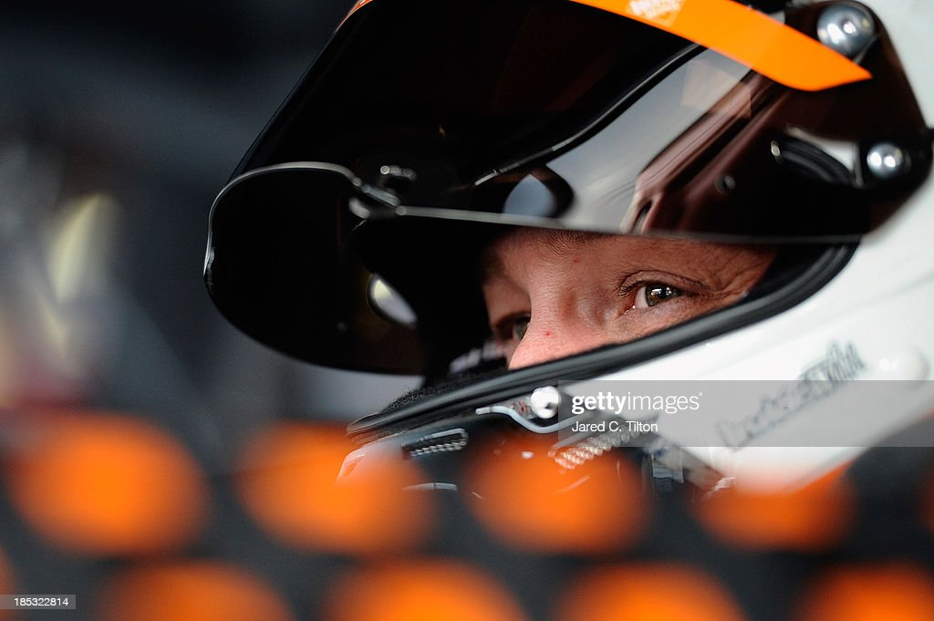 <a gi-track='captionPersonalityLinkClicked' href=/galleries/search?phrase=Matt+Kenseth&family=editorial&specificpeople=204192 ng-click='$event.stopPropagation()'>Matt Kenseth</a>, driver of the #20 The Home Depot Toyota, looks olooks onduring practice for the NASCAR Sprint Cup Series 45th Annual Camping World RV Sales 500 at Talladega Superspeedway on October 18, 2013 in Talladega, Alabama.