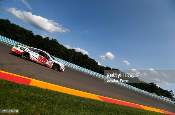 Matt Kenseth driver of the Toyota Care Toyota drives during the Monster Energy NASCAR Cup Series I Love NY 355 at The Glen at Watkins Glen...