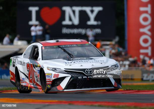 Matt Kenseth driver of the Toyota Care Toyota during the Monster Energy NASCAR Cup Series I Love NY 355 at The Glen at Watkins Glen International on...