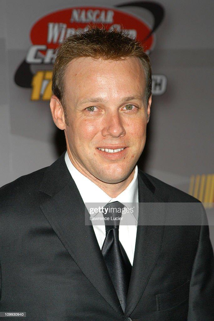 Matt Kenseth during 2003 NASCAR Winston Cup Awards - Press Room at Waldorf Astoria in New York City, New York, United States.