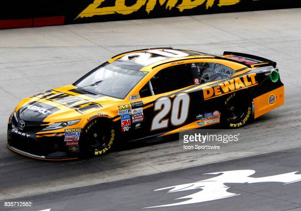 Matt Kenseth during practice for the Bass Pro Shop NRA 500 at Bristol Motor Speedway on August 18 2017 Photo by Jeff Robinson/Icon Sportswire via...