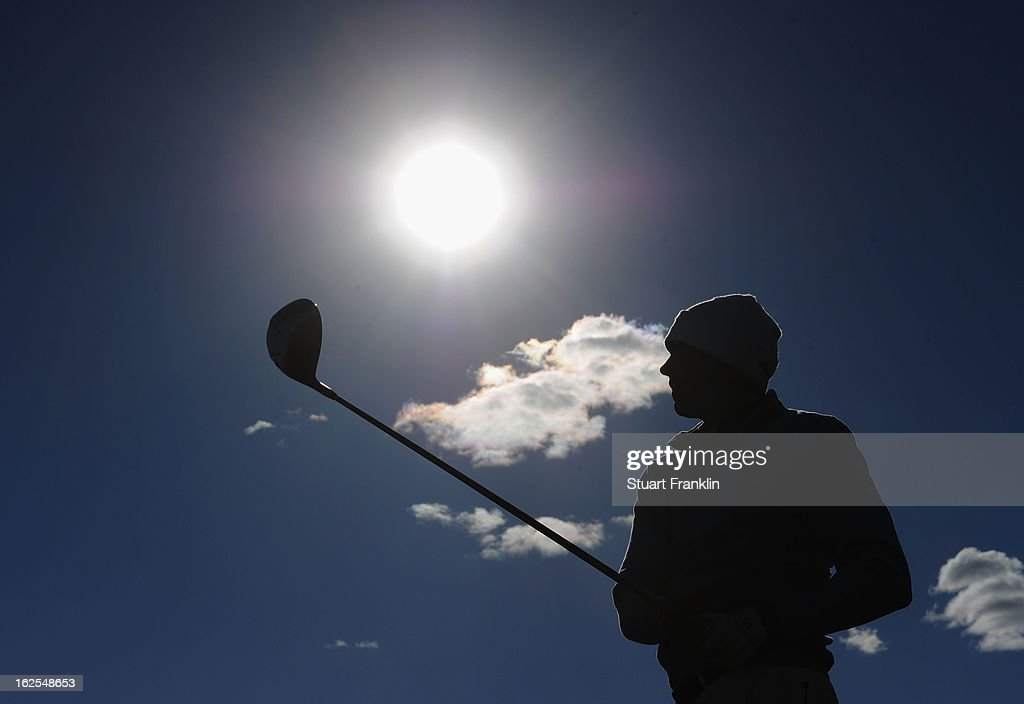 Matt Kuchar of USA plays his tee shot on the 17th hole during the final round of the World Golf Championships Accenture Match Play at the Golf Club...