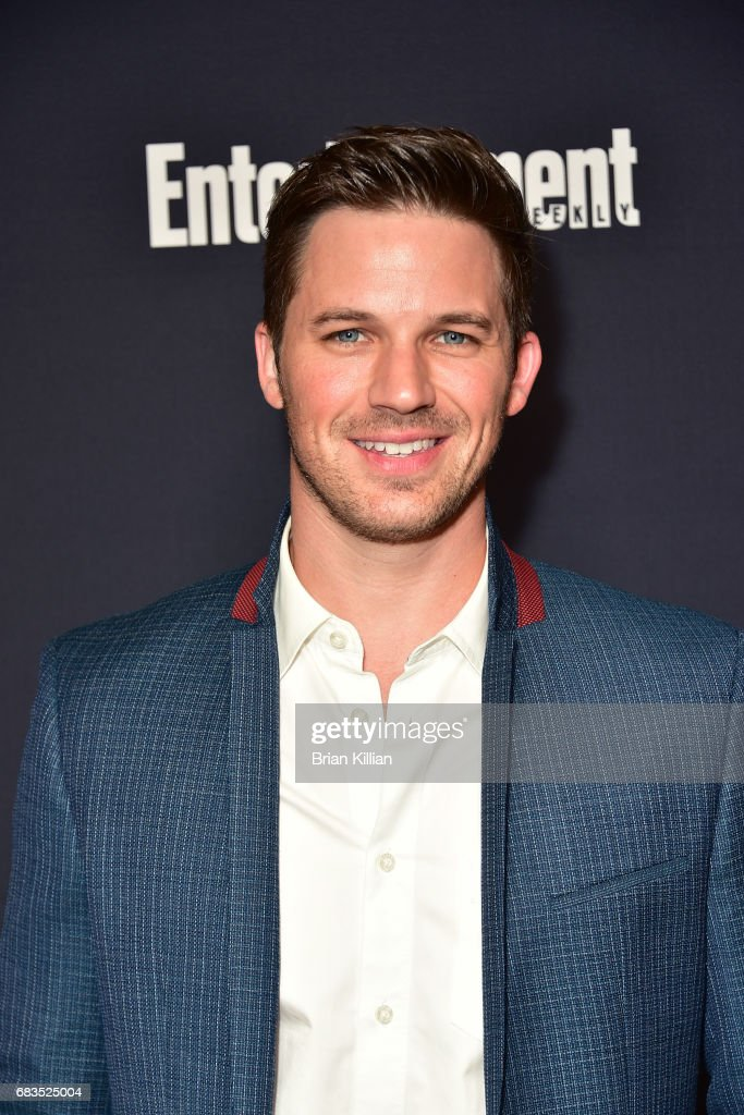 Matt Lanter attends the Entertainment Weekly & People New York Upfronts at 849 6th Ave on May 15, 2017 in New York City.