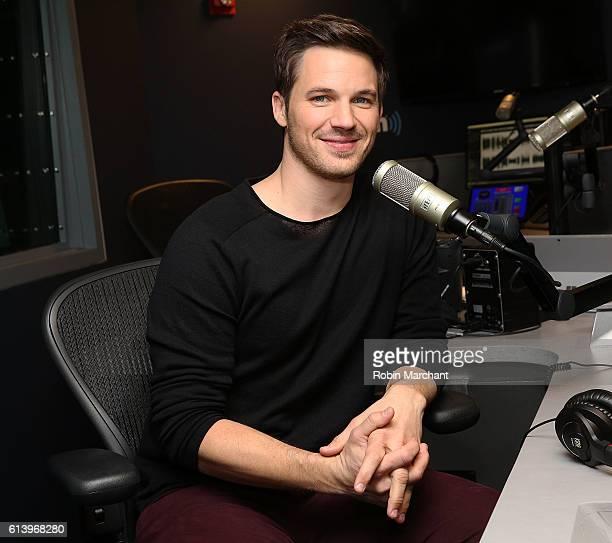 Matt Lanter visits at SiriusXM Studio on October 11 2016 in New York City