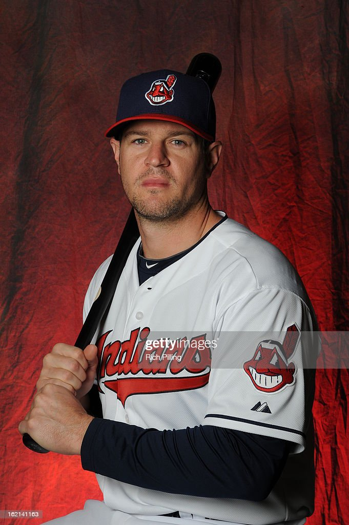 Matt Laporta of the Cleveland Indians poses during MLB photo day at the Goodyear Ballpark on February 19 2013 in Goodyear Arizona