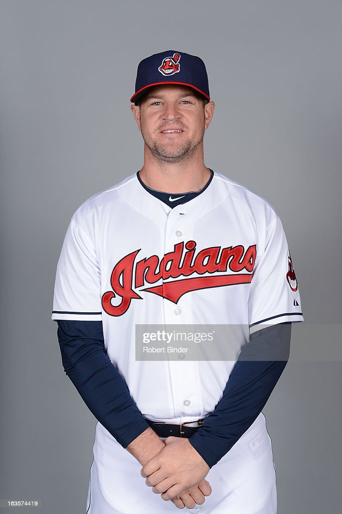 Matt LaPorta of the Cleveland Indians poses during Photo Day on February 19 2013 at Goodyear Ballpark in Goodyear Arizona