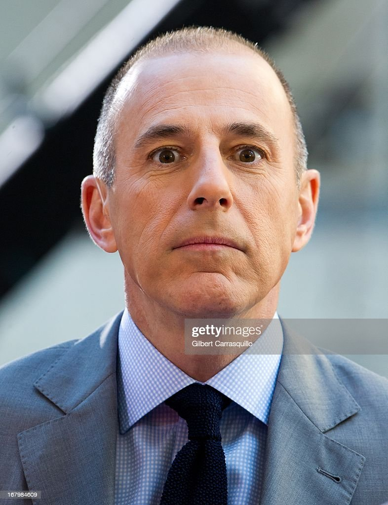 <a gi-track='captionPersonalityLinkClicked' href=/galleries/search?phrase=Matt+Lauer&family=editorial&specificpeople=206146 ng-click='$event.stopPropagation()'>Matt Lauer</a> attends Psy Performance On NBC's 'Today Show' at Rockefeller Plaza on May 3, 2013 in New York City.