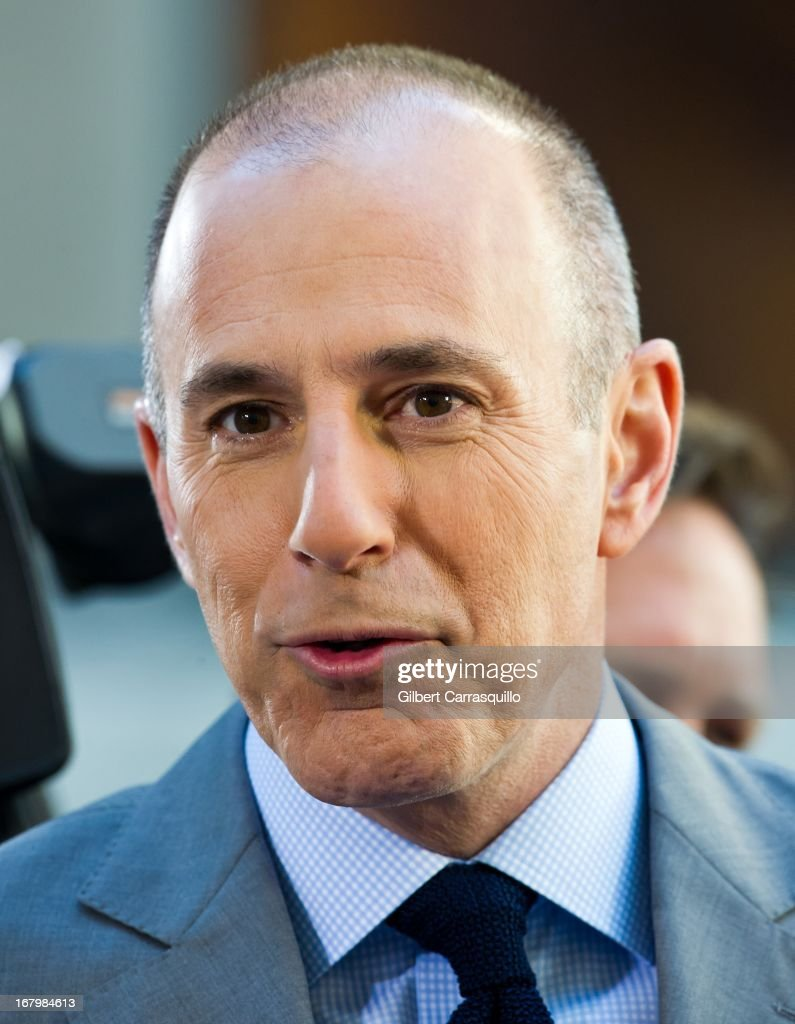 Matt Lauer attends Psy Performance On NBC's 'Today Show' at Rockefeller Plaza on May 3, 2013 in New York City.