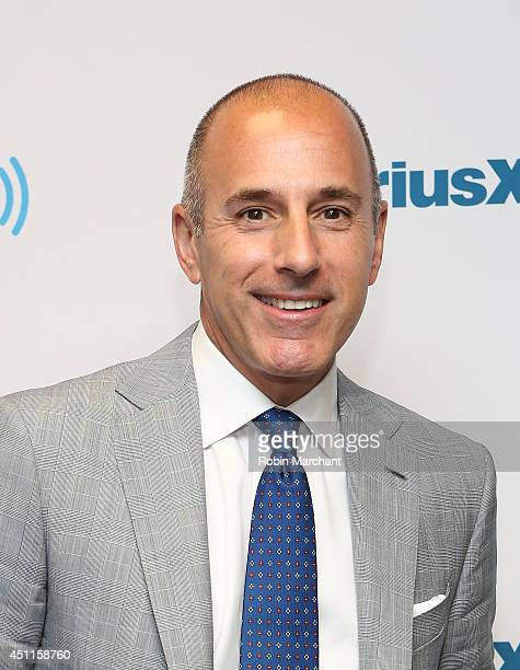 Matt Lauer hosts an exclusive guest DJ session on SiriusXM's Classic Vinyl channel to celebrate the launch of TODAY Show Radio on SiriusXM on June 24...