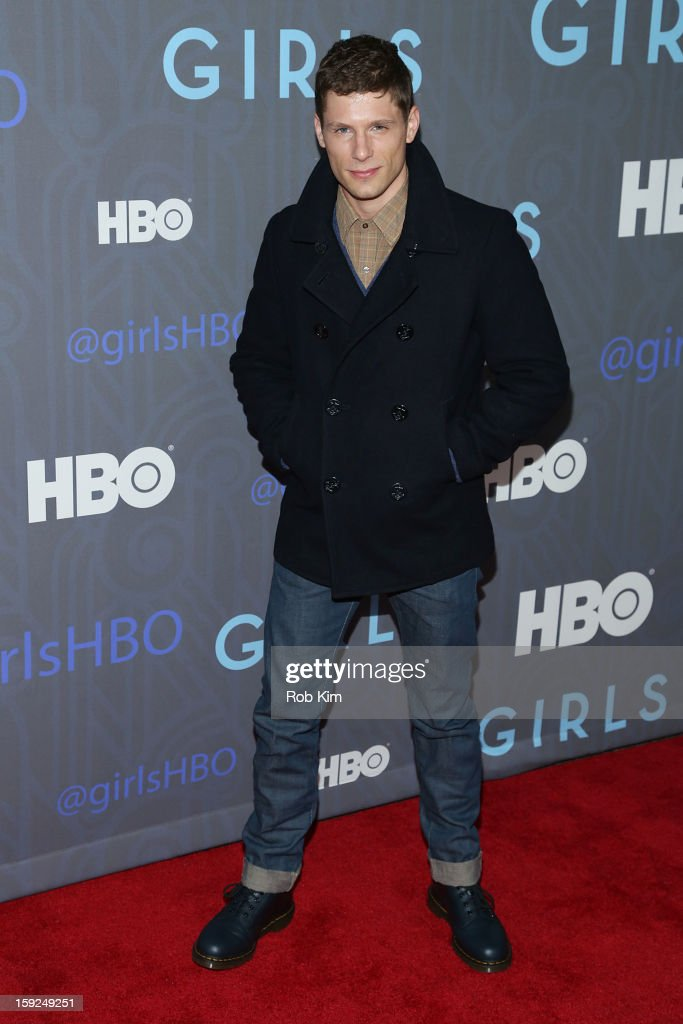Matt Lauria attends the HBO 'Girls' Season 2 premiere at the NYU Skirball Center on January 9, 2013 in New York City.