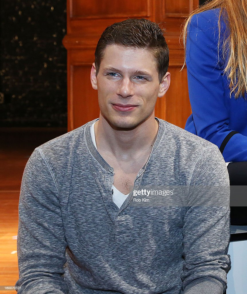 Matt Lauria attends the 'Really Really' cast photo call at Lucille Lortel Theatre on January 25, 2013 in New York City.