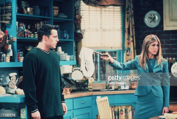 Matt Le Blanc and Jennifer Aniston star in the latest season of 'Friends'