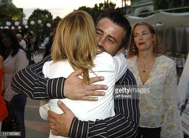 Matt LeBlanc amd Lisa Kudrow during 'The Comeback' HBO Los Angeles Premiere Arrivals at Paramount Theater in Los Angeles California United States