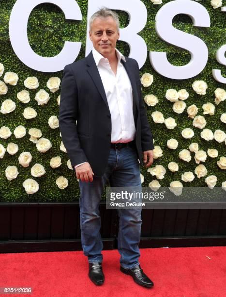Matt LeBlanc arrives at the 2017 Summer TCA Tour CBS Television Studios' Summer Soiree at CBS Studios Radford on August 1 2017 in Studio City...