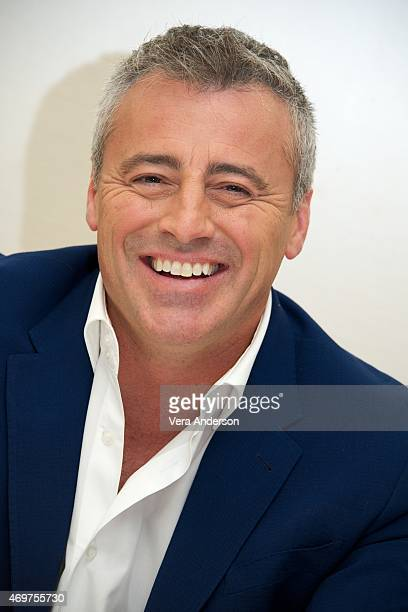 Matt LeBlanc at the 'Episodes' Press Conference at the Four Seasons Hotel on April 14 2015 in Beverly Hills California