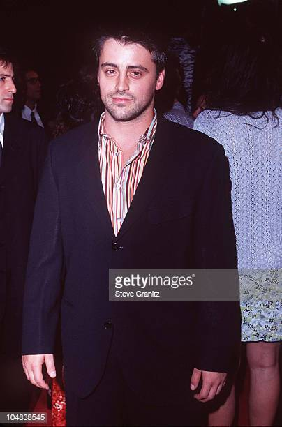 Matt LeBlanc during 'Boogie Nights' Los Angeles Premiere at Mann Chinese Theatre in Hollywood California United States