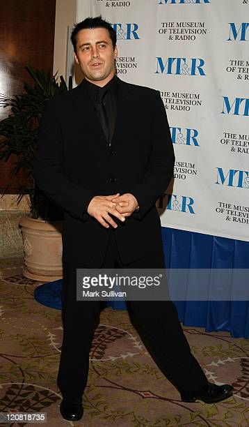 Matt LeBlanc during The Museum of Television and Radio Annual Los Angeles Gala Arrivals at The Beverly Hills Hotel in Beverly Hills California United...