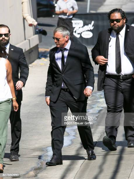 Matt LeBlanc is seen at 'Jimmy Kimmel Live' on August 07 2017 in Los Angeles California