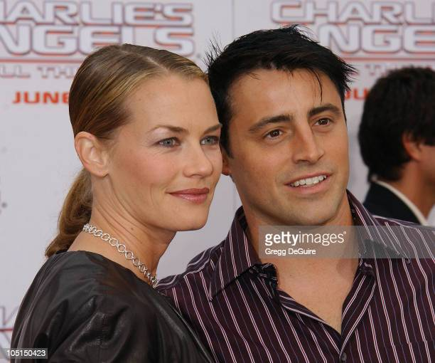Matt LeBlanc Wife Melissa during 'Charlie's Angels 2 Full Throttle' Premiere at Mann's Chinese Theater in Hollywood California United States
