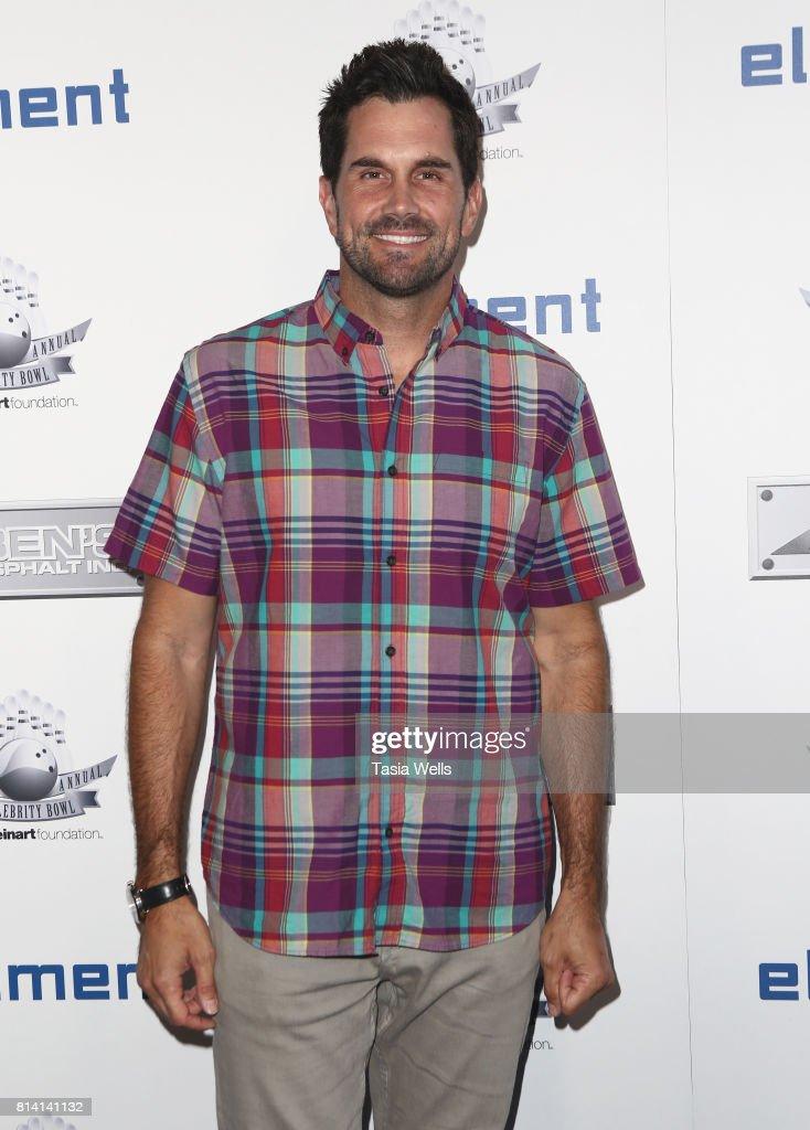Matt Leinart attends Matt Leinart Foundation's 9th Annual 'Celebrity Bowl' at Lucky Strike Lanes on July 13, 2017 in Hollywood, California.