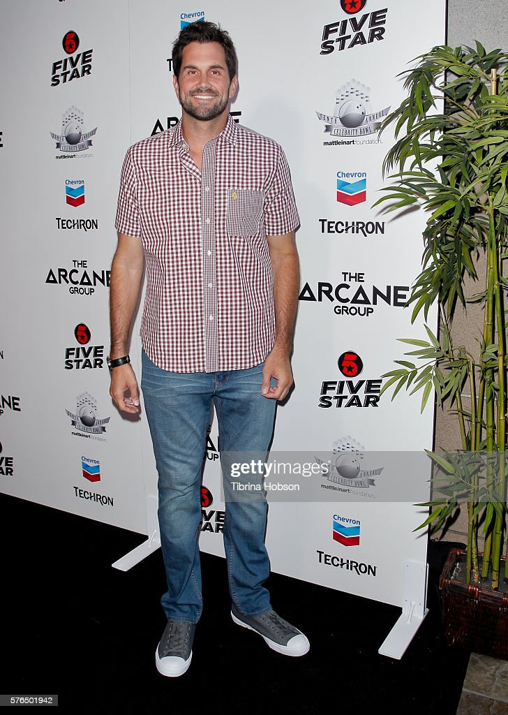 Matt Leinart attends the Matt Leinart Foundation's 10th annual Celebrity Bowl for Charity Event at Lucky Strike Lanes on July 14, 2016 in Hollywood, California.