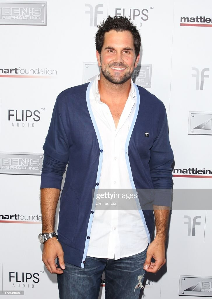 Matt Leinart attends the Matt Leinart Foundation's 7th Annual 'Celebrity Bowl' at Lucky Strikes on July 18, 2013 in Hollywood, California.