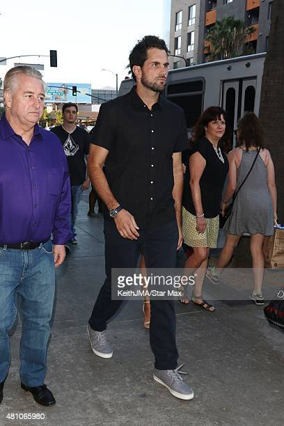 Matt Leinart is seen on July 16 2015 in Los Angeles California