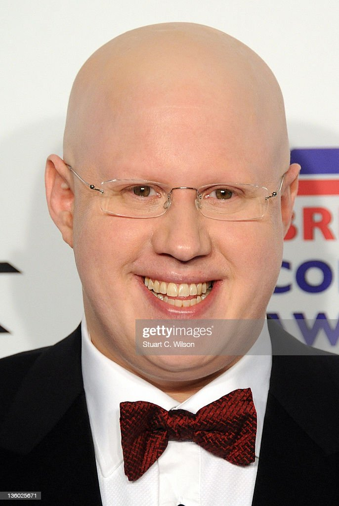 <a gi-track='captionPersonalityLinkClicked' href=/galleries/search?phrase=Matt+Lucas&family=editorial&specificpeople=204202 ng-click='$event.stopPropagation()'>Matt Lucas</a> attends the British Comedy Awards at Fountain Studios on December 16, 2011 in London, England.