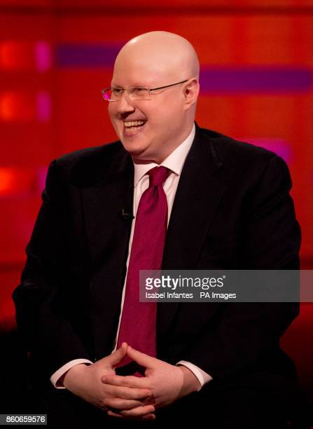 Matt Lucas during filming of the Graham Norton Show at the London Studios to be aired on BBC One on Friday evening