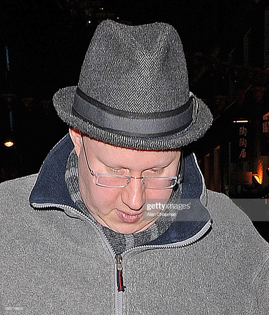 <a gi-track='captionPersonalityLinkClicked' href=/galleries/search?phrase=Matt+Lucas+-+Comedian&family=editorial&specificpeople=204202 ng-click='$event.stopPropagation()'>Matt Lucas</a> sighting in Little Newport Street on February 4, 2013 in London, England.