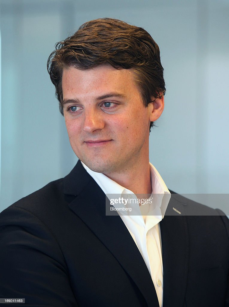 Matt Maloney, chief executive officer and co-founder of GrubHub Inc., sits for a photograph during an interview in Chicago, Illinois, U.S., on Tuesday, May 21, 2013. GrubHub Inc. and Seamless North America LLC, two of the top food-delivery websites in the U.S., have agreed to combine their companies to take on rivals in the growing market for online meal orders. Maloney will become CEO of the merged group. Photographer: Tim Boyle/Bloomberg via Getty Images *** Matt Maloney