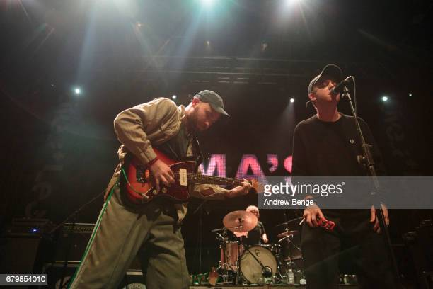 Matt Mason and Tommy O'Dell of DMA's perform at O2 Academy during Live At Leeds on April 29 2017 in Leeds England Live at Leeds is a music festival...