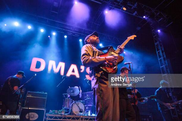 Matt Mason of DMA's performs at O2 Academy during Live At Leeds on April 29 2017 in Leeds England Live at Leeds is a music festival that takes place...