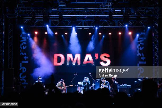 Matt Mason Tommy O'Dell and Johnny Took of DMA's perform at O2 Academy during Live At Leeds on April 29 2017 in Leeds England Live at Leeds is a...