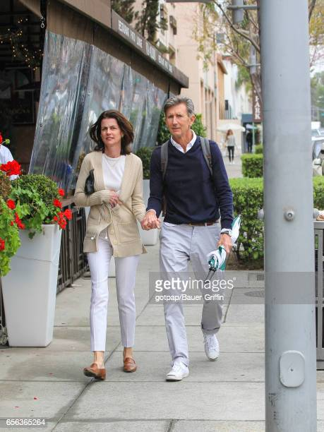 Matt McCoy and his wife Mary McCoy are seen on March 21 2017 in Los Angeles California