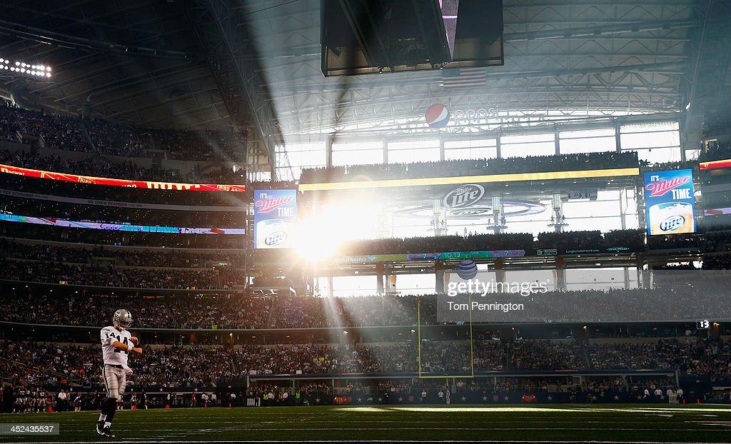 Oakland Raiders v Dallas Cowboys