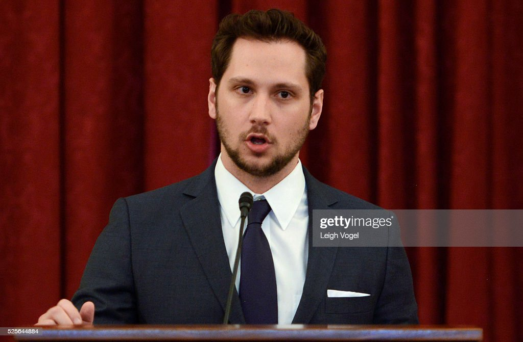 Matt McGorry speaks during #JusticReformNow Capitol Hill Advocacy Day at Russell Senate Office Building on April 28, 2016 in Washington, DC.