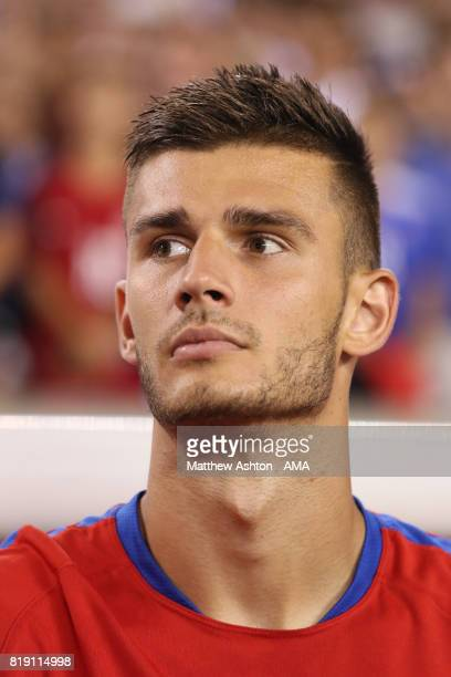 Matt Miazga of United States of America during the 2017 CONCACAF Gold Cup Quarter Final match between United States of America and El Salvador at...