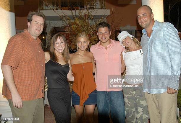 Matt Moline Kathy Griffin Jessica Simpson Nick Lachey Jaime Pressly and Jay Gehrke