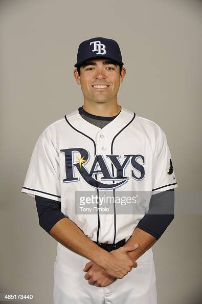 Matt Moore of the Tampa Bay Rays poses during Photo Day on Friday February 27 2015 at Charlotte Sports Park in Port Charlotte Florida