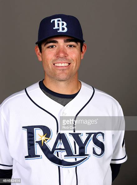 Matt Moore of the Tampa Bay Rays poses for a photo on photo day at Charlotte Sports Park on February 27 2015 in Port Charlotte Florida