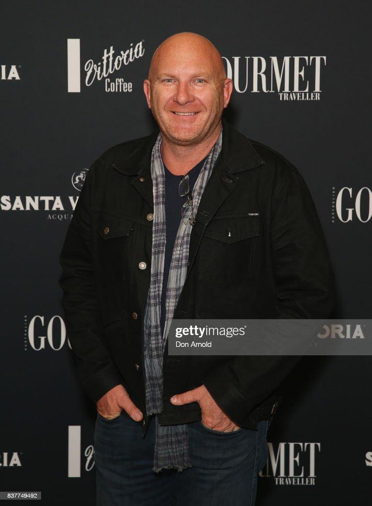 Matt Moran poses at the 2018 Gourmet Traveller National Restaurant Awards at Chin Chin Restaurant on August 23, 2017 in Sydney, Australia.