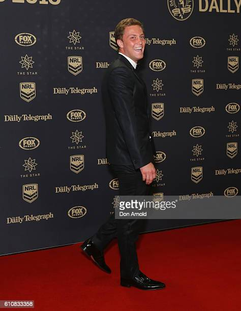 Matt Moylan arrives at the 2016 Dally M Awards at Star City on September 28 2016 in Sydney Australia