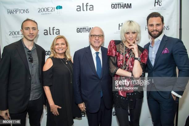 Matt Namer Debra Halpert Howard Lorber ML Perlman and Glenn Davis attend the Alfa Development Launch Celebration on October 12 2017 in New York City