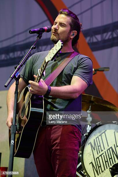Matt Nathanson performs at the Coral Sky Ampitheatre on June 7 2015 in West Palm Beach Florida