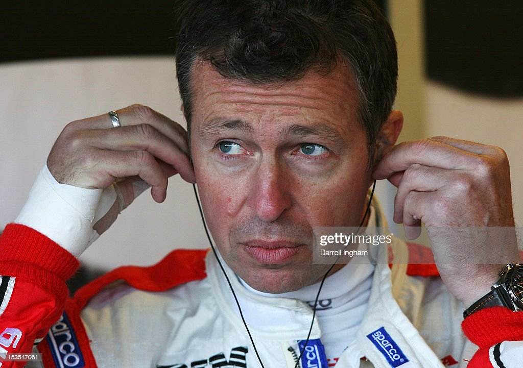Matt Neal of Great Britain, driver of the #1 Honda YUASA Racing Team Honda Civic during practice for the Dunlop MSA British Touring Car Championship race at the Silverstone Circuit on October 6, 2012 in Towcester, United Kingdom.