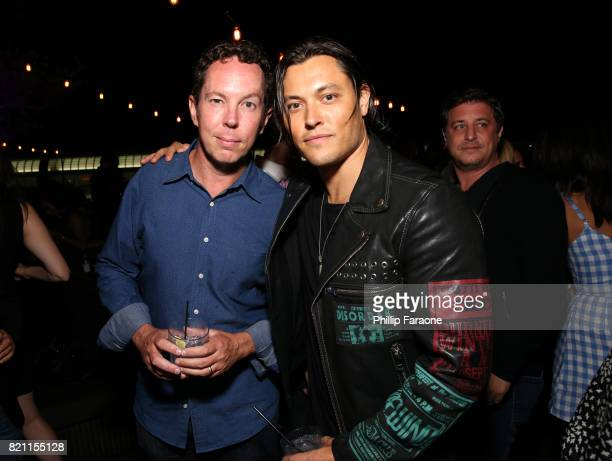 Matt Nix and Blair Redford at Entertainment Weekly's annual ComicCon party in celebration of ComicCon 2017 at Float at Hard Rock Hotel San Diego on...