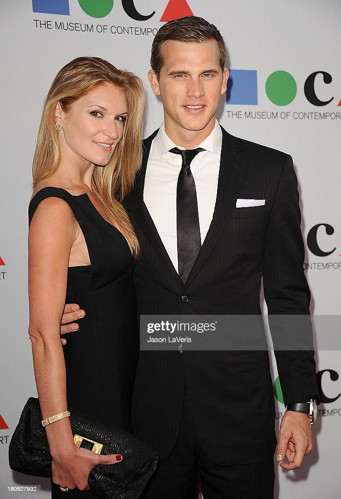 Matt Nordgren (R) and guest attend the 2013 MOCA Gala at MOCA Grand Avenue on April 20, 2013 in Los Angeles, California.