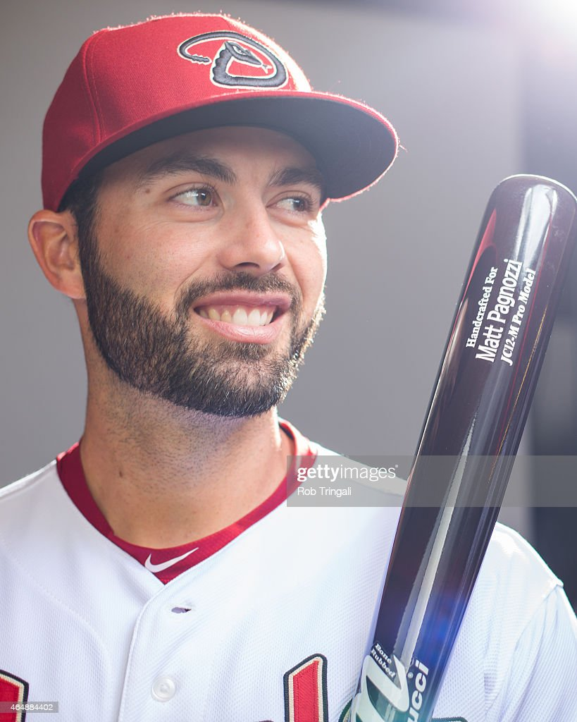 Matt Pagnozzi #26 of the Arizona Diamondbacks poses during photo day at Salt River Fields at Talking Stick on March 1, 2015 in Scottsdale, Arizona.